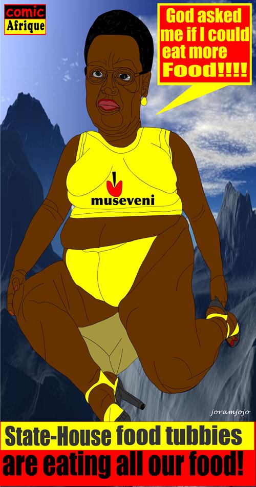 UGanda first Lady, Janet Museveni
