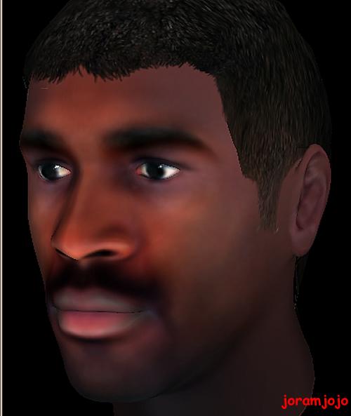 Fred Rwigyema in 3D