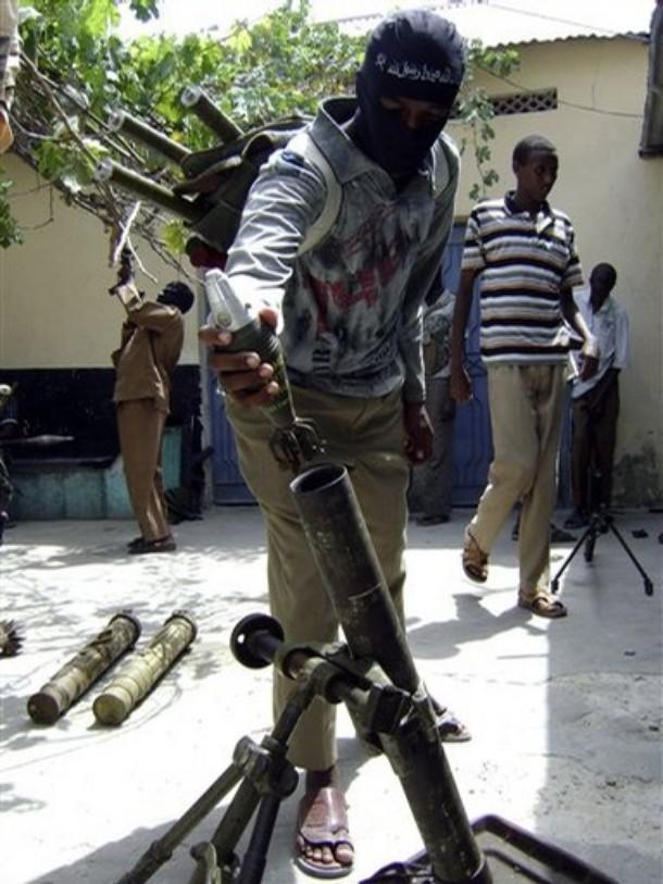 Al-Shabab Mujahadeen unit in mogadishu