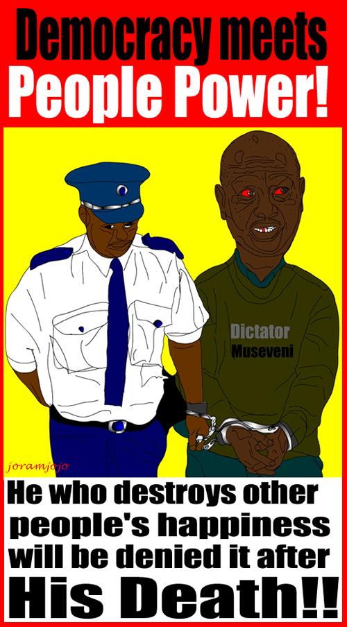 War Criminal Yoweri Museveni