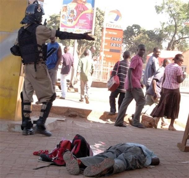 Dictator Yoweri Museveni'sThugs, Kill a Ugandan Civilian