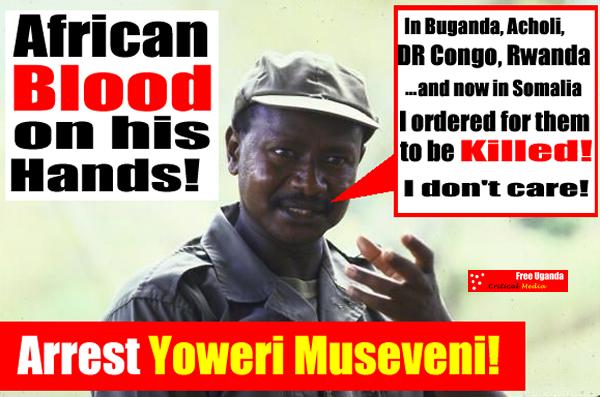 Yoweri Museveni African Butcher
