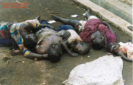 Victims of Maj Gen James Kazini