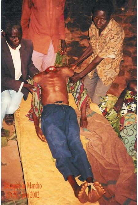 Victims of Maj Gen James Kazini