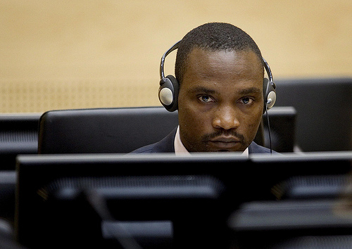 Germain Katanga, who faces war crime charges
