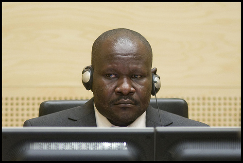 Mathieu Ngudjolo Chui, who faces war crime charges