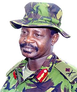 War criminal, James Kazini
