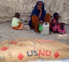 Somalia Displaced Families