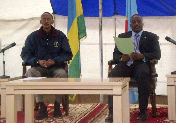 War criminals: Kanembe and Kagame