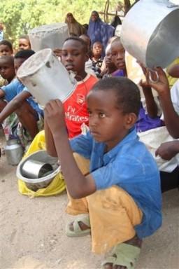 Somalia Displaced children
