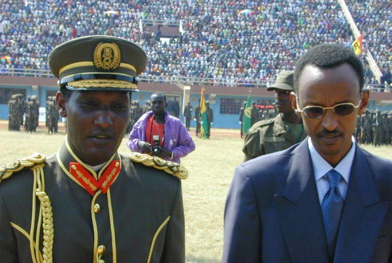 Kayumba Nyamwasa and Paul Kagame