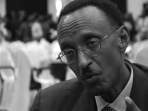 Rwanda Farcist leader