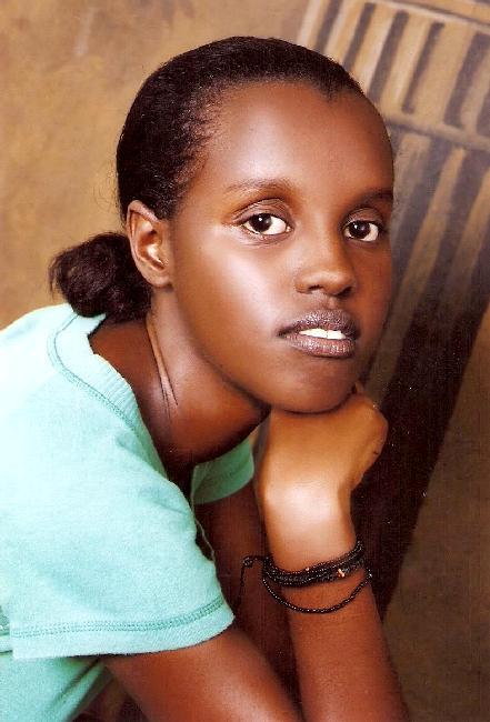 Rwandan girl