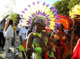 Hundreds of thousands of people descended on the streets of West London to celebrate the final day of the Notting Hill Carnival - the largest festival of its kind in Europe. London, UK. 30/08/2010