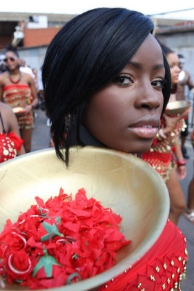 Second only to Rio's Carnival , the Notting Hill Carnival celebrates freedom trough music, movement and masquerade. The parade ran for 3.5 miles in London,UK. 30/08/2010