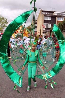 Notting Hill Carnival 2010 - The first day of the Notting Hill Carnival is Children's Day.