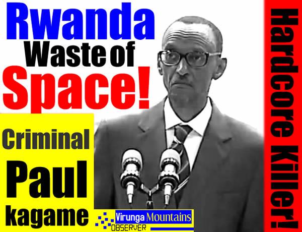 War Criminal Paul Kagame