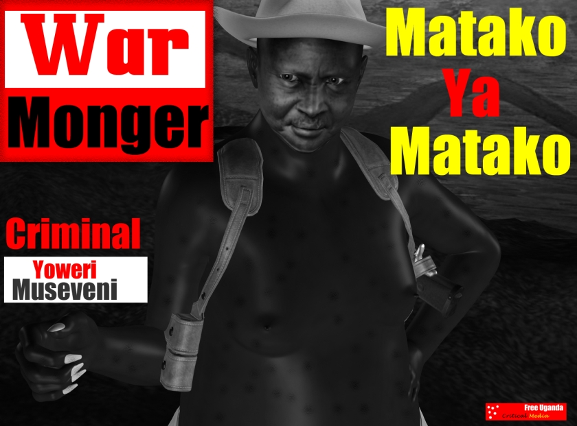 The Genocidal Despot, Yoweri Museveni