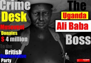 Yoweri Museveni now