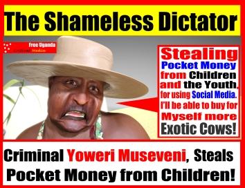 Yoweri Museveni crimes