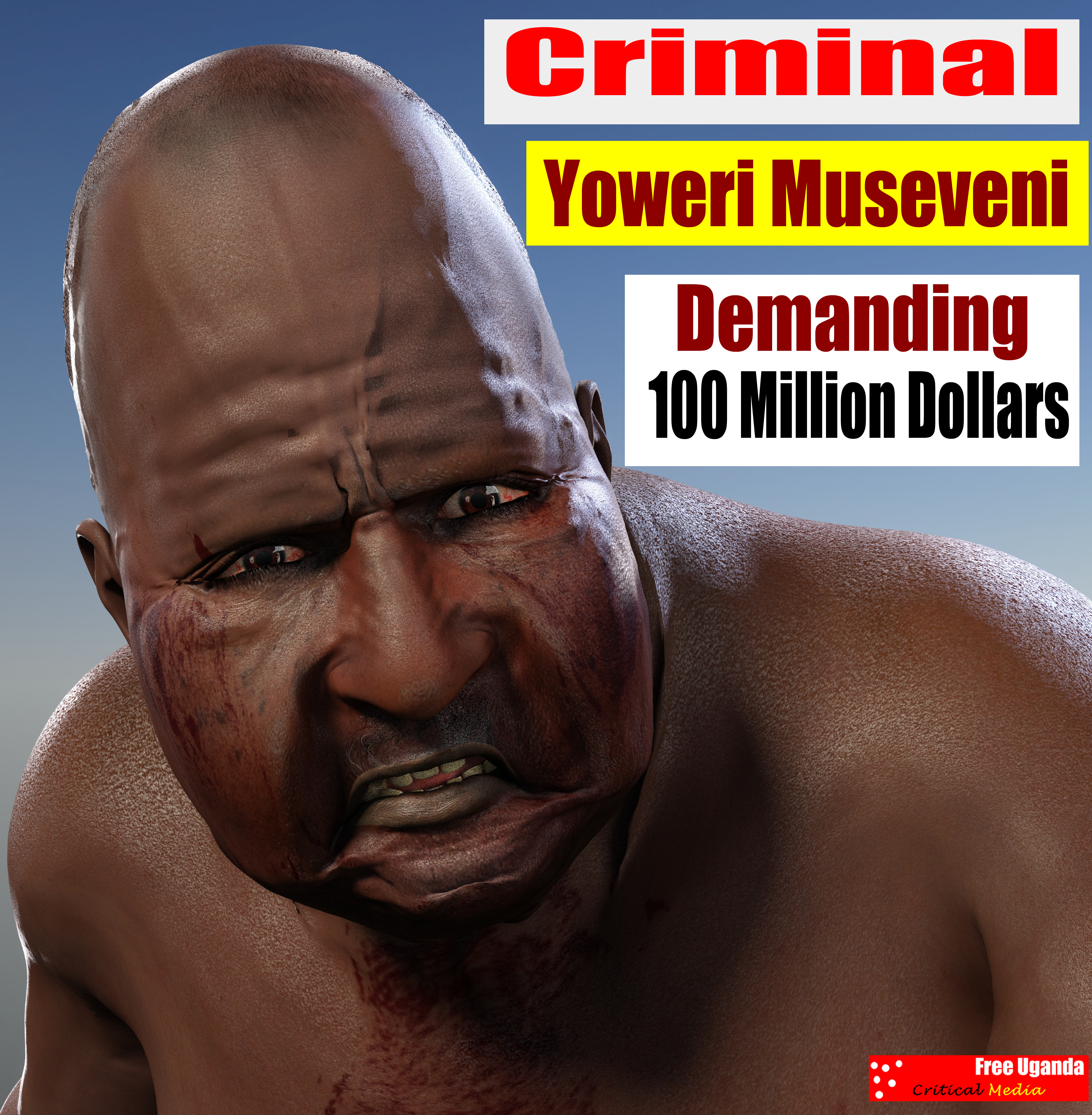 Criminal Yoweri Museveni Endless Borrowing
