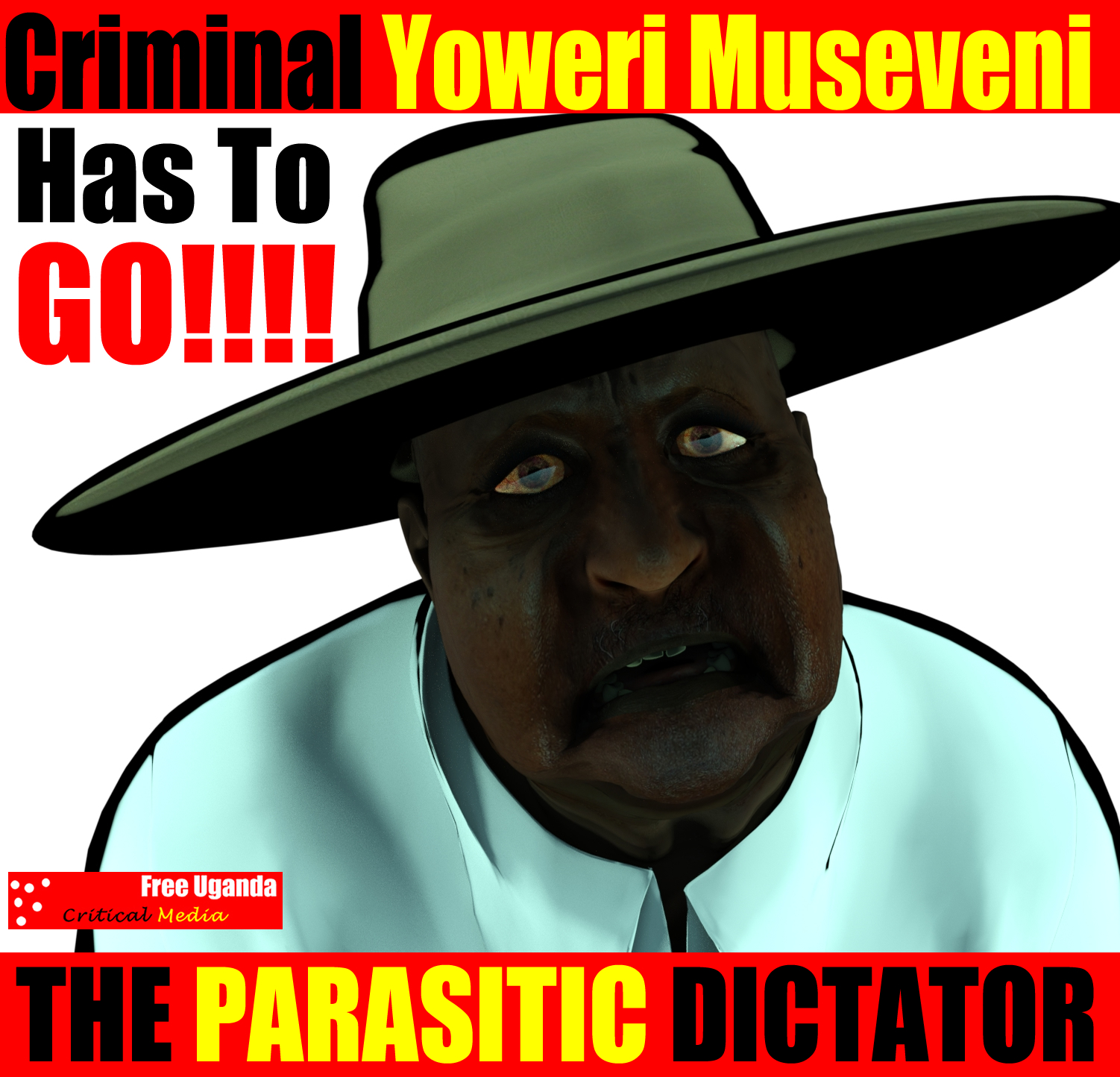 Yoweri Museveni is dead man walking