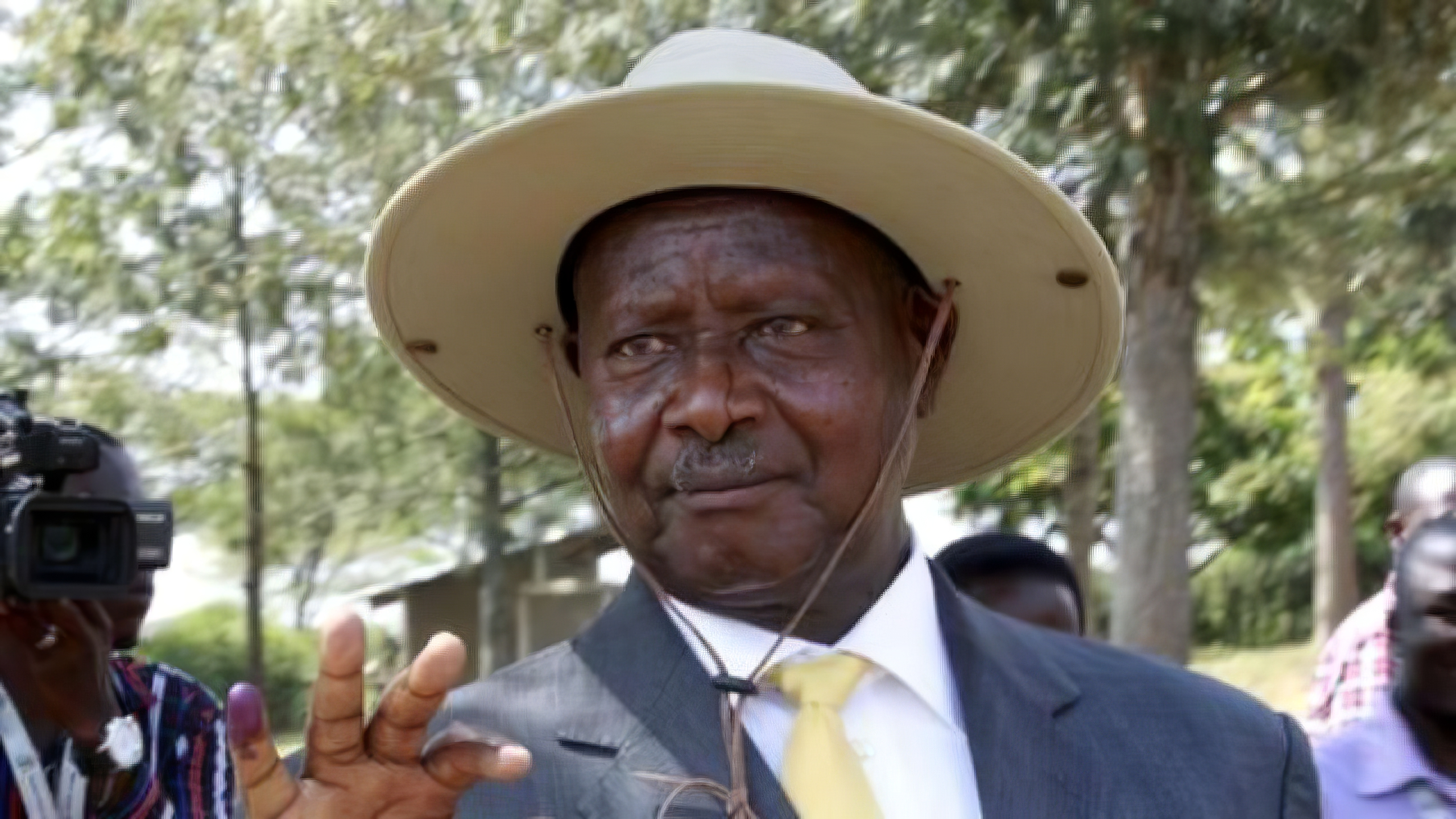 YOWERI MUSEVENI ROBBING UGANDANS USING SOCIAL MEDIA TAX
