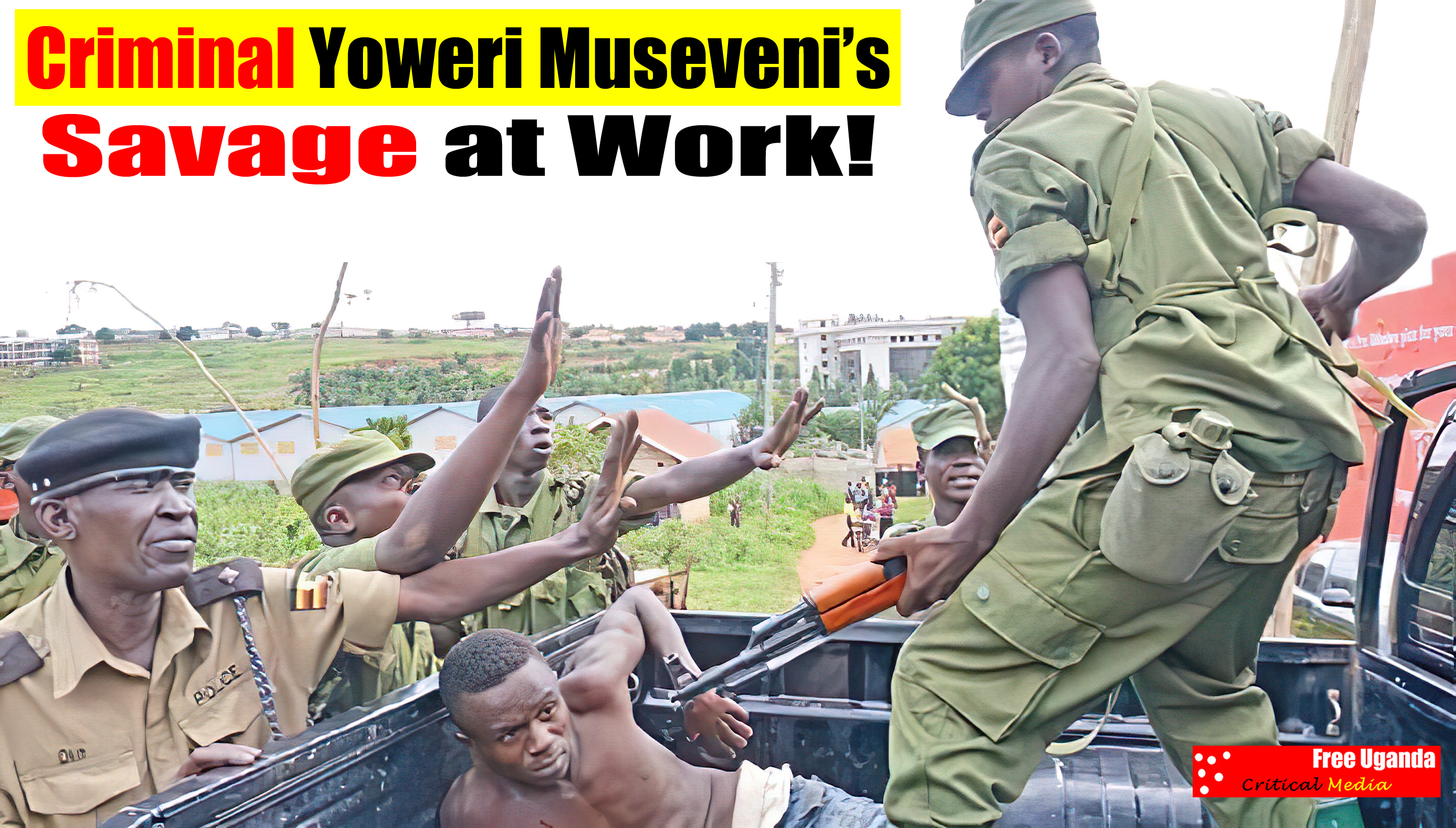 Ugandans continue to be under siege