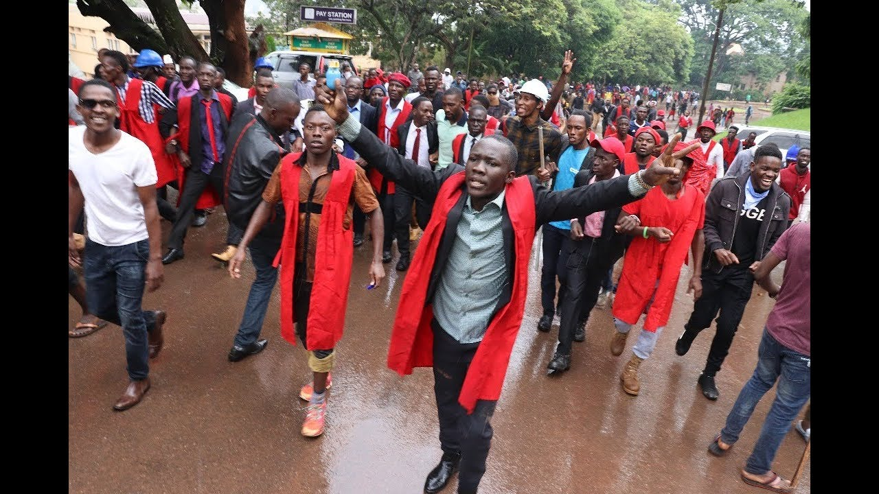 Makerere University Students Declare not to Stop Peaceful Protest