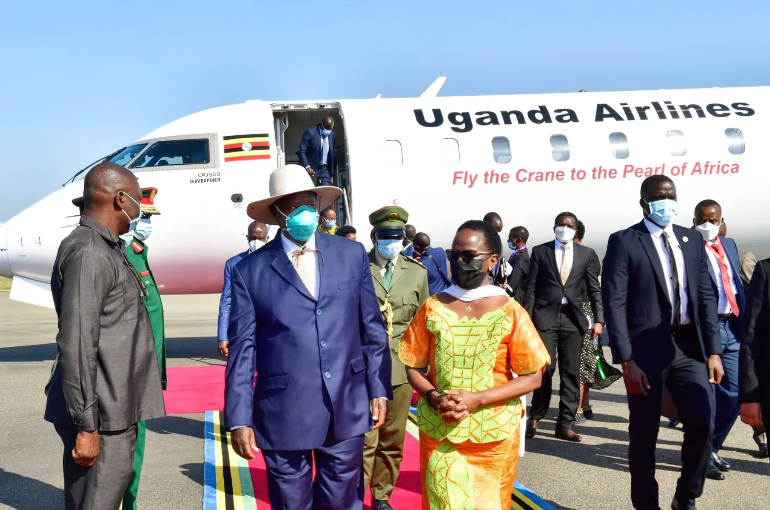 THE BRITISH GOVERNMENT HAS RESTRICTED TRAVELLERS FROM UGANDA